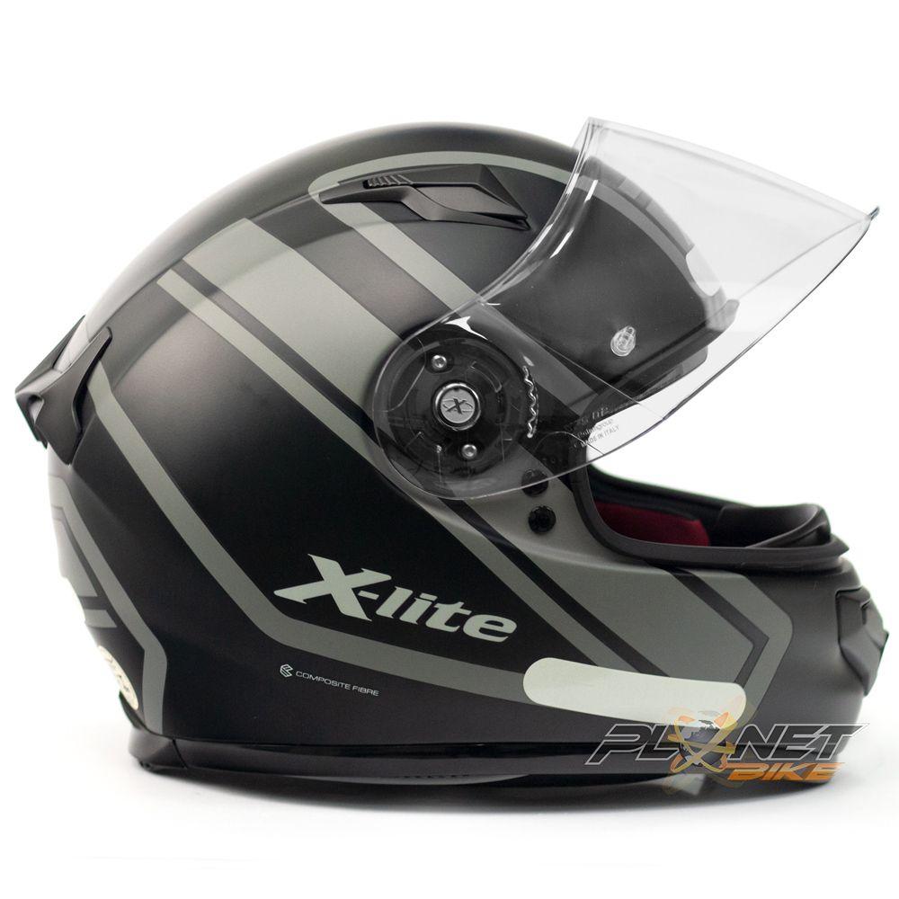 Capacete X-Lite X-661 Conrad Flat Black 43 - SuperOferta  - Planet Bike Shop Moto Acessórios