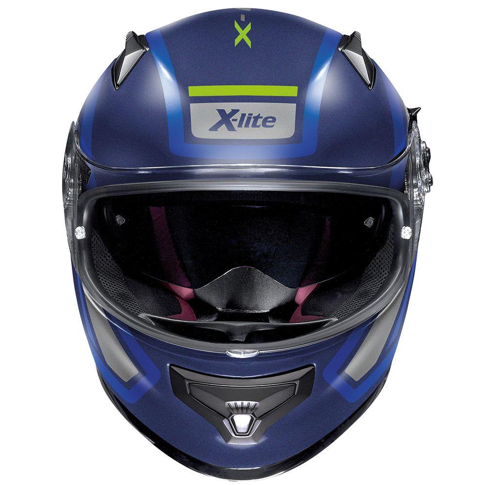 Capacete X-lite X-661 Conrade Azul Fosco (41) - SuperOferta  - Planet Bike Shop Moto Acessórios