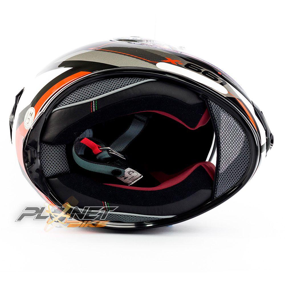 Capacete X-lite X-661 Motivator Vermelho(46) - SuperOferta  - Planet Bike Shop Moto Acessórios