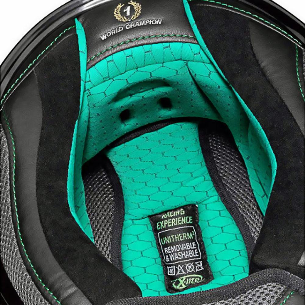 Capacete X-Lite X-802RR Ultra Carbon Réplica Stoner Suzuka Carbon   - Planet Bike Shop Moto Acessórios