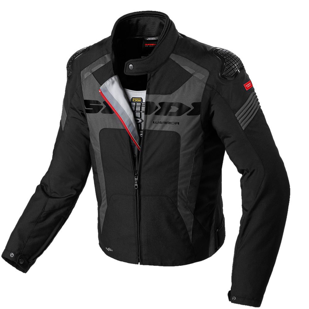 Jaqueta Spidi Warrior H2Out BLACK - SuperOferta - Planet Bike Shop Moto Acessórios