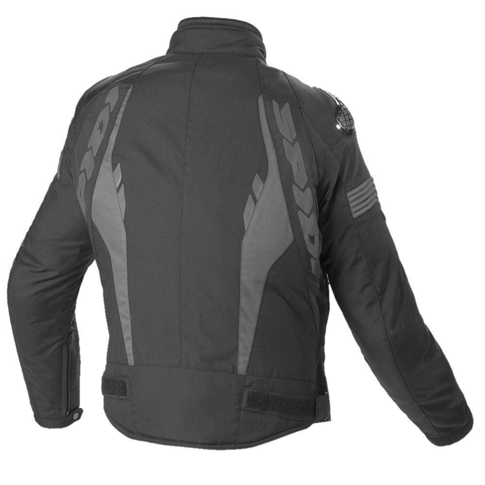 Jaqueta Spidi Warrior H2Out BLACK  - Planet Bike Shop Moto Acessórios