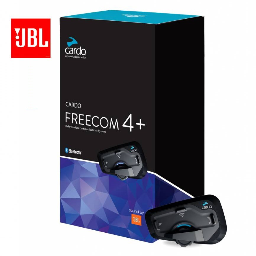Intercomunicador Bluetooth Cardo Scala Rider Freecom 4 áudio JBL - O PAR  - Planet Bike Shop Moto Acessórios