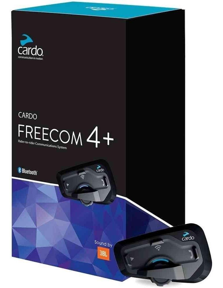 Intercomunicador Bluetooth Cardo Scala Rider Freecom 4 áudio JBL - UNIDADE  - Planet Bike Shop Moto Acessórios