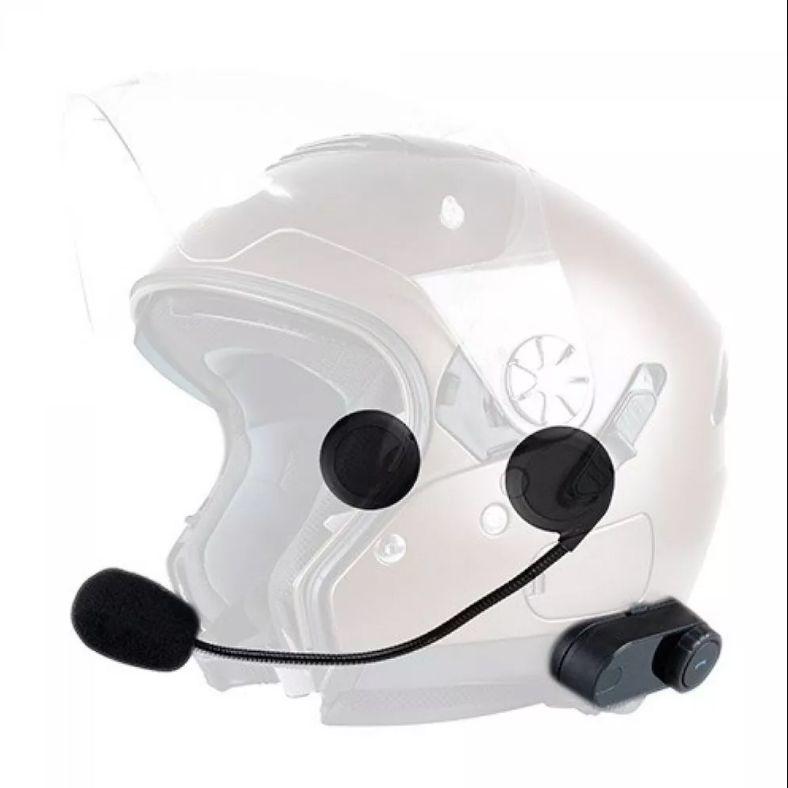 Intercomunicador Bluetooth Motocom Prime X2 - o Par  - Planet Bike Shop Moto Acessórios