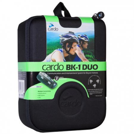 Intercomunicador Cardo BK1 para Bicicleta (2 peças)  - Planet Bike Shop Moto Acessórios