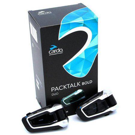 Intercomunicador Cardo ScalaRider PackTalk Bold áudio JBL 2 Unid  - Entrega após 28/07  - Planet Bike Shop Moto Acessórios