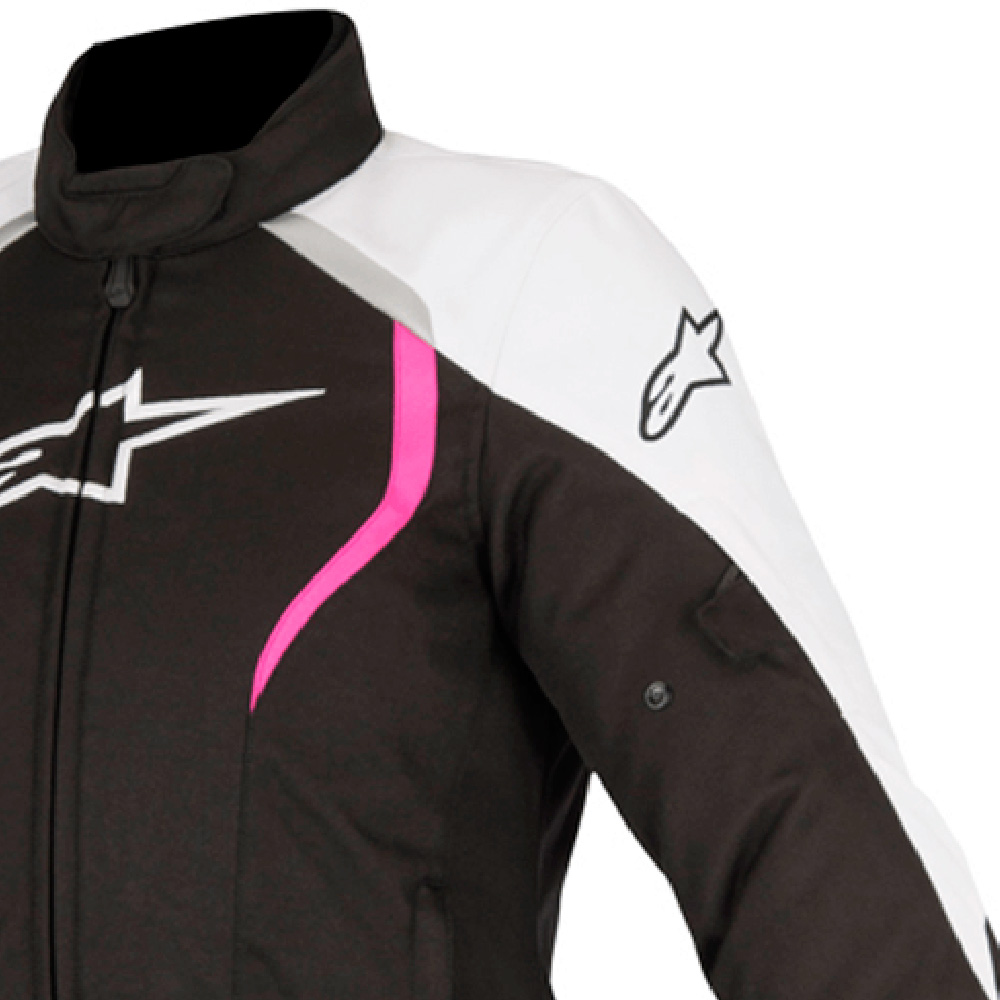 Jaqueta Alpinestar Stella Alux 100% Impermeável Rosa   - Planet Bike Shop Moto Acessórios