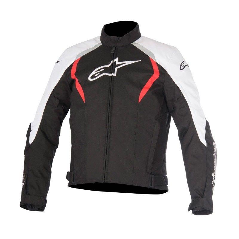 Jaqueta Alpinestars Stella Alux Impermeável (Vermelha/Preta/Branca)  - Planet Bike Shop Moto Acessórios
