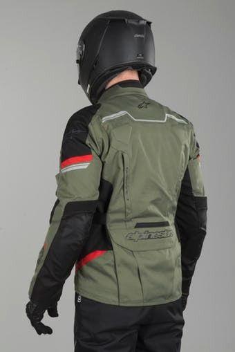 Jaqueta Alpinestars Andes V2 Drystars VERDE MILITAR 2017 100% IMPERMEÁVEL LANÇAMENTO!!!!   - Planet Bike Shop Moto Acessórios