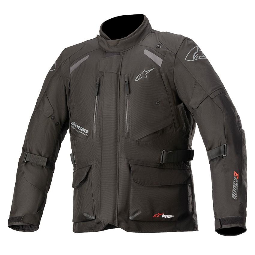 Jaqueta Alpinestars Andes V3 Preta DRYSTAR® 100% Impermeável  - Planet Bike Shop Moto Acessórios