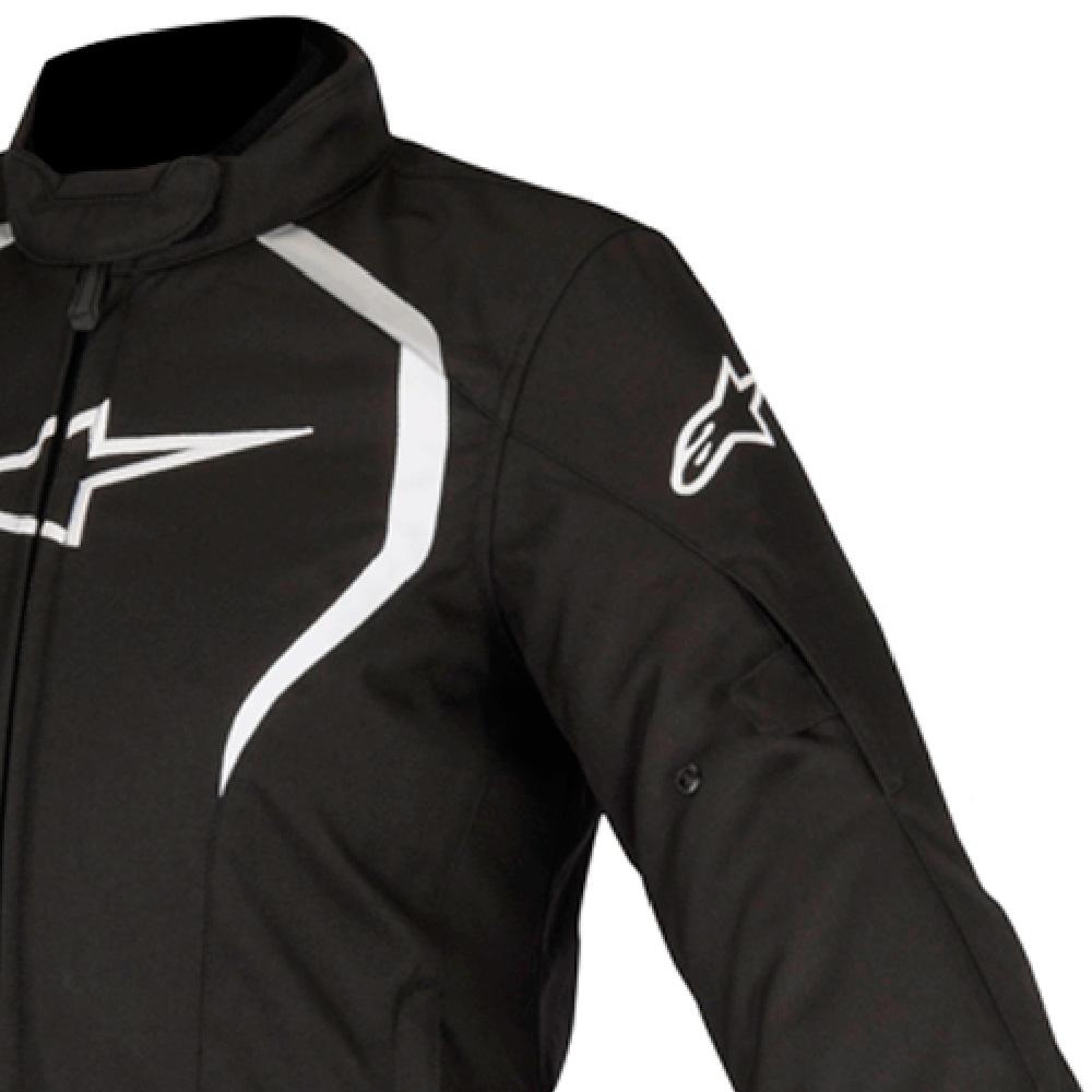 Jaqueta Alpinestars Stella Alux 100% Impermeável (Preta)  - Planet Bike Shop Moto Acessórios