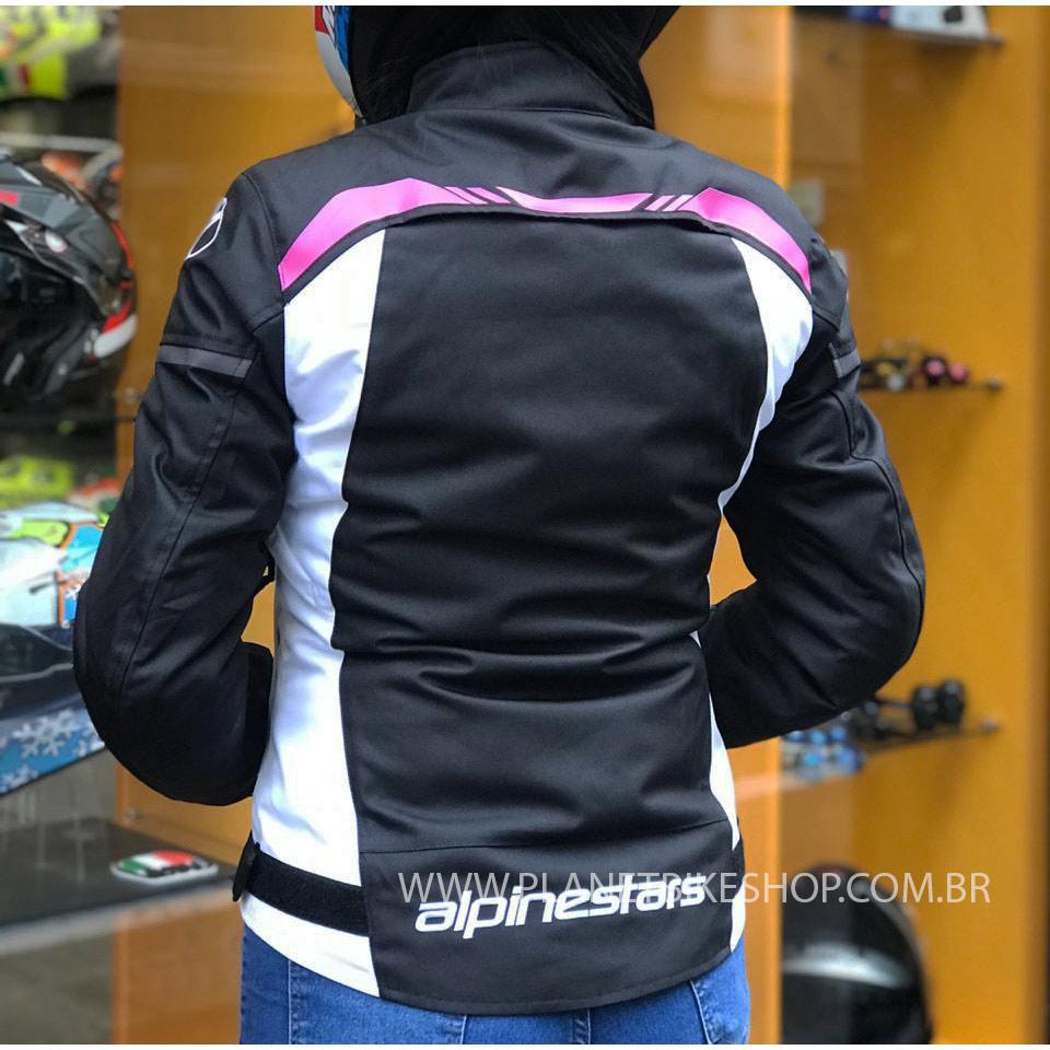 Jaqueta Alpinestars Stella T-SPS WP (Impermeável) LANÇAMENTO   - Planet Bike Shop Moto Acessórios