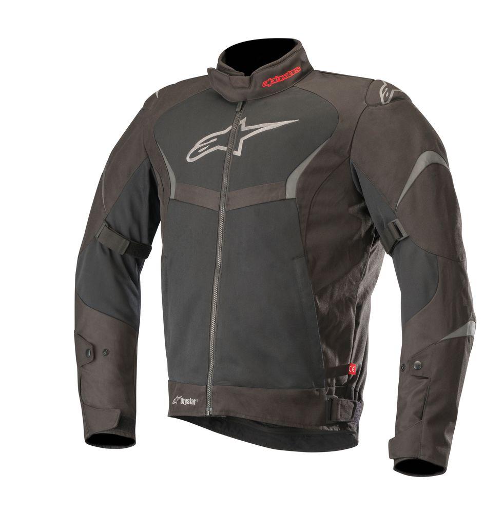 Jaqueta Alpinestars T-Core Air Preto Drystar  - Planet Bike Shop Moto Acessórios