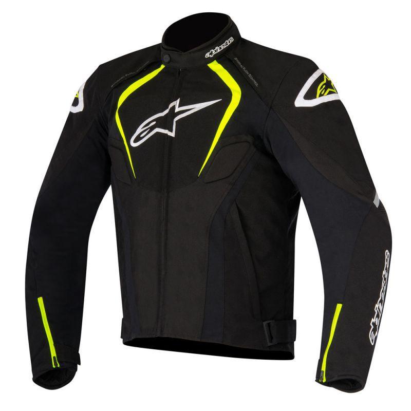 Jaqueta Alpinestars T-Jaws WP (Preto/Neon) LANÇAMENTO!!!!   - Planet Bike Shop Moto Acessórios