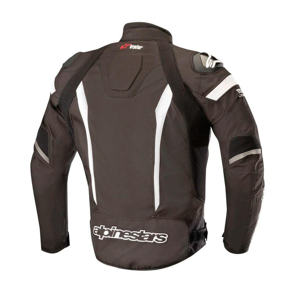 Jaqueta Alpinestars T-Missile Tech Air - Black/White   - Planet Bike Shop Moto Acessórios