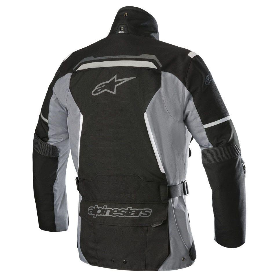 Jaqueta Alpinestars V2 Drystar® (Preto / Cinza) LANÇAMENTO!!!  - Planet Bike Shop Moto Acessórios