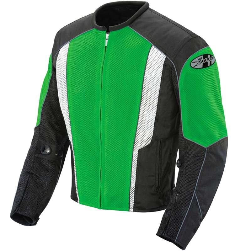 0 Jaqueta Joe Rocket Phoenix 2.0 Verde Impermeável ventilada  - Planet Bike Shop Moto Acessórios