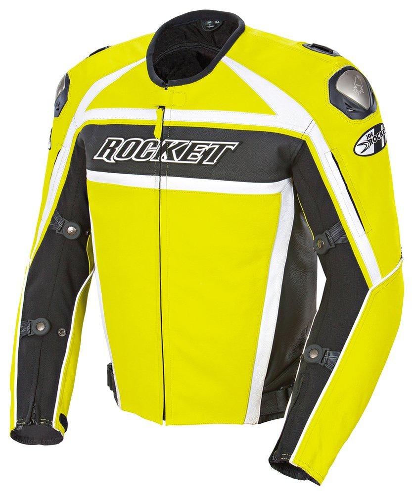 Jaqueta Joe Rocket Speedmaster 5.0 Couro - Só 52 e 54  - Planet Bike Shop Moto Acessórios