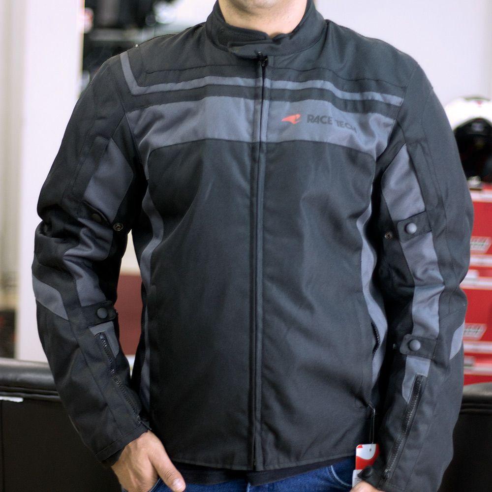 Jaqueta Race Tech Imola Black / Black (Oferta)  - Planet Bike Shop Moto Acessórios