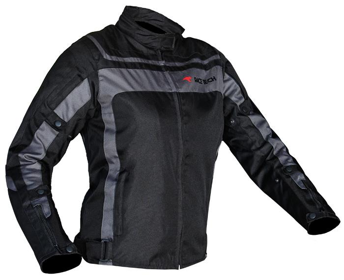 Jaqueta Race Tech Imola Lady Black / Black  - Planet Bike Shop Moto Acessórios