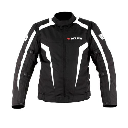 Jaqueta Race Tech Racer II Black/ White
