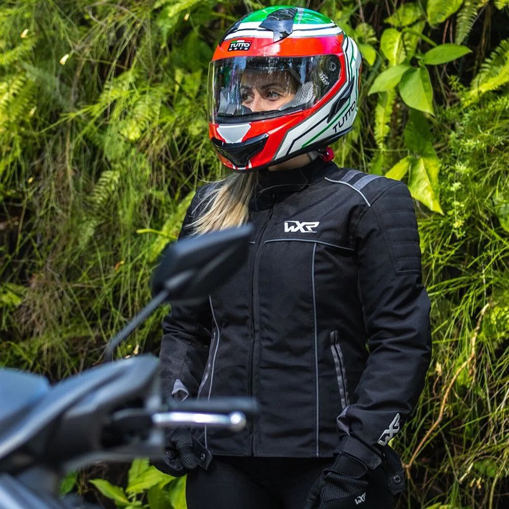Jaqueta WXR Lolla Feminina  - Planet Bike Shop Moto Acessórios