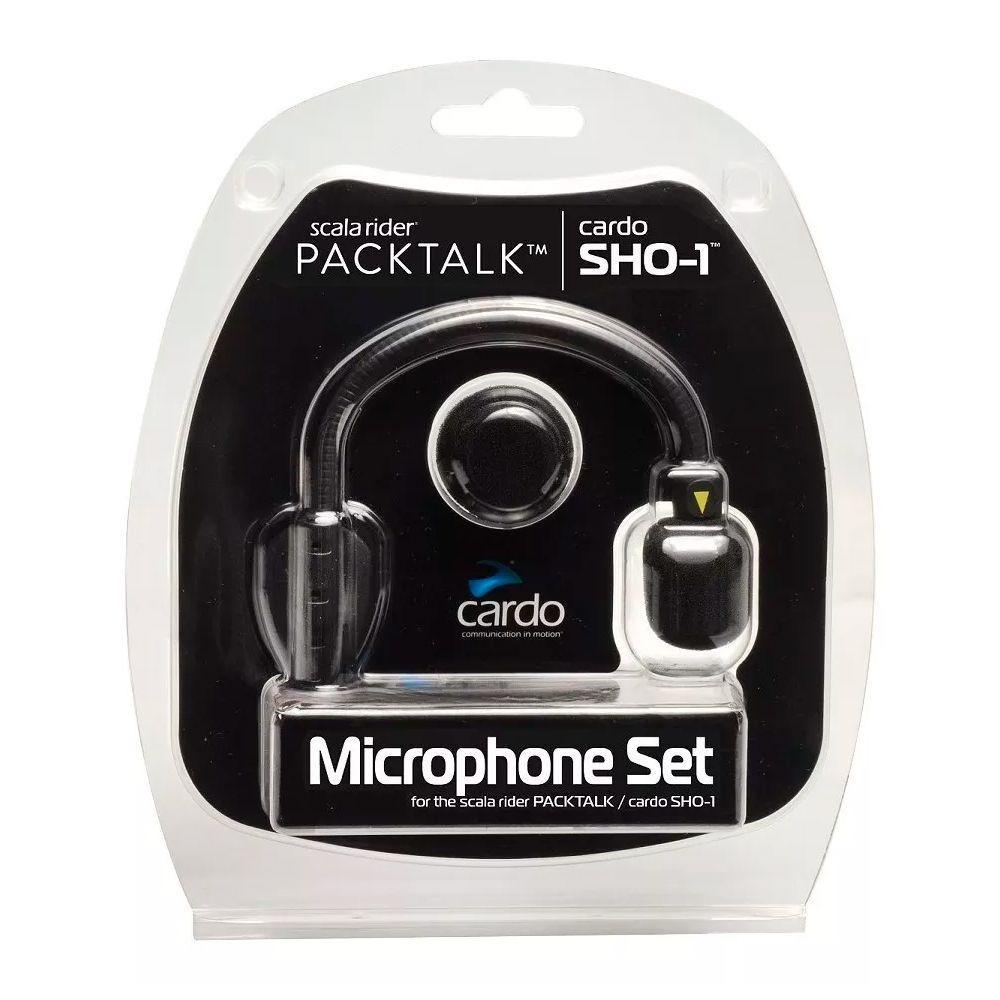 Kit Microfone Sho 1 - Cardo  - Planet Bike Shop Moto Acessórios
