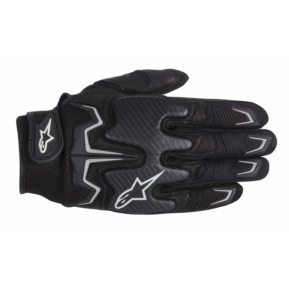 Luva Alpinestars Fighter Air Black  - Planet Bike Shop Moto Acessórios