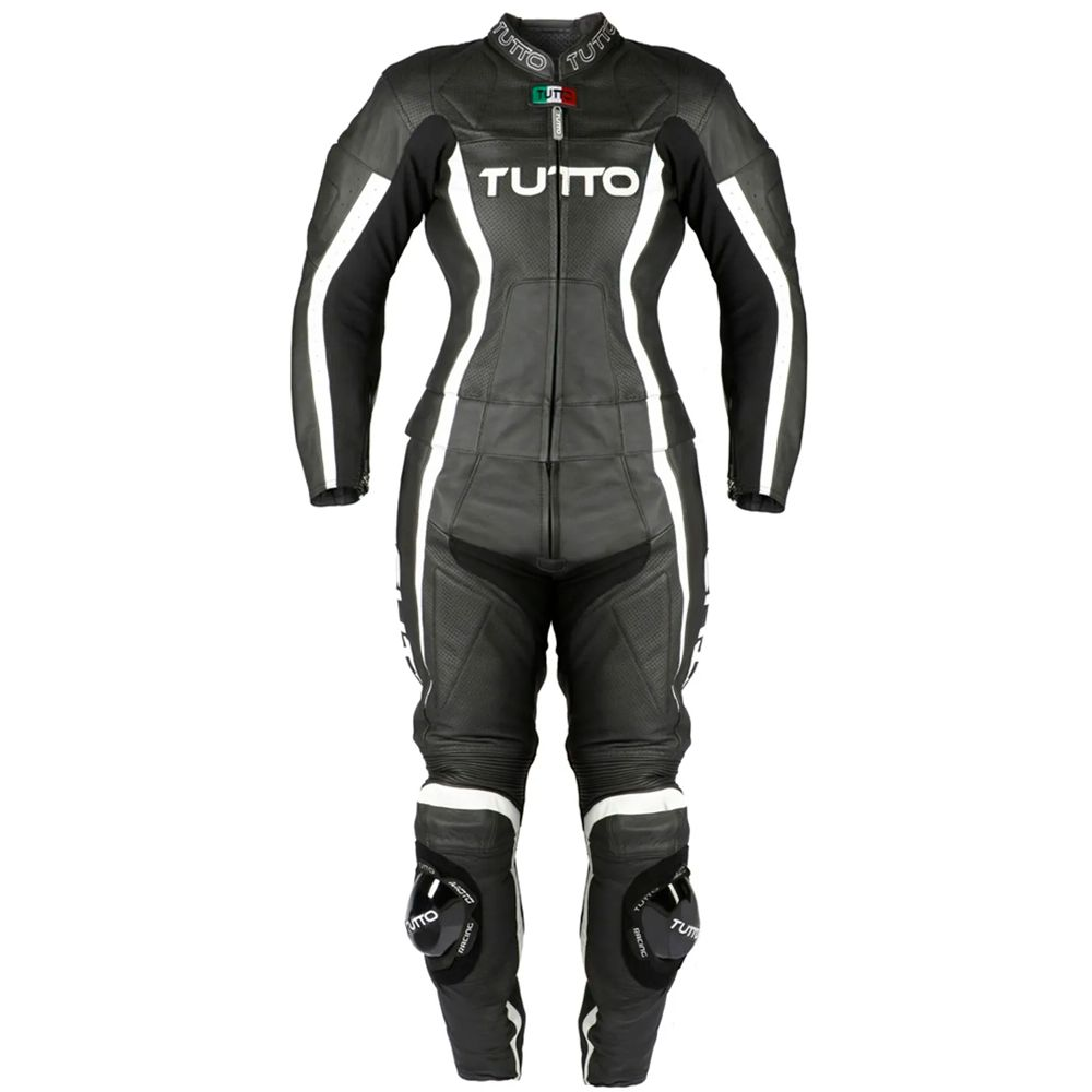 Macacão Tutto Moto Lady 2 Peças - Couro Feminino   - Planet Bike Shop Moto Acessórios