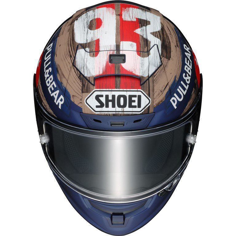 Capacete Shoei X-Spirit 3 Marc Marquez America Texas Replica   - Planet Bike Shop Moto Acessórios