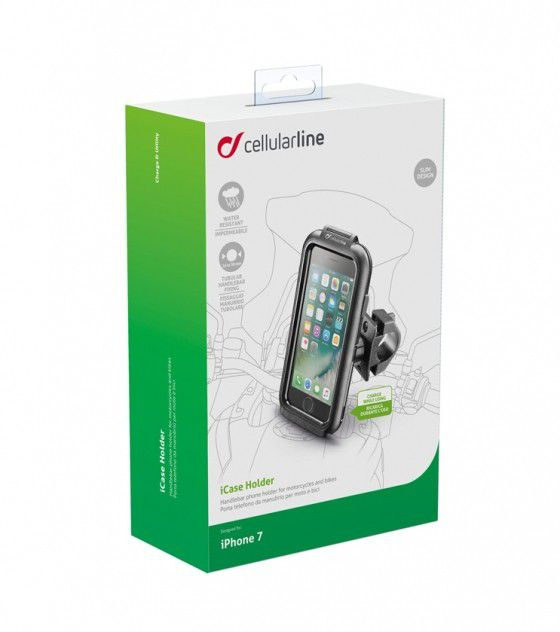 Suporte para Celular iPhone 7 e 8 Interphone para motos  - Planet Bike Shop Moto Acessórios