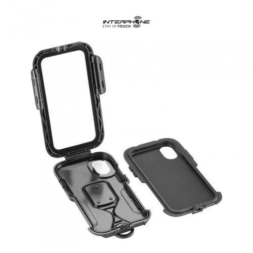 Suporte para Celular Iphone 7 e 8 Plus Interphone para motos  - Planet Bike Shop Moto Acessórios