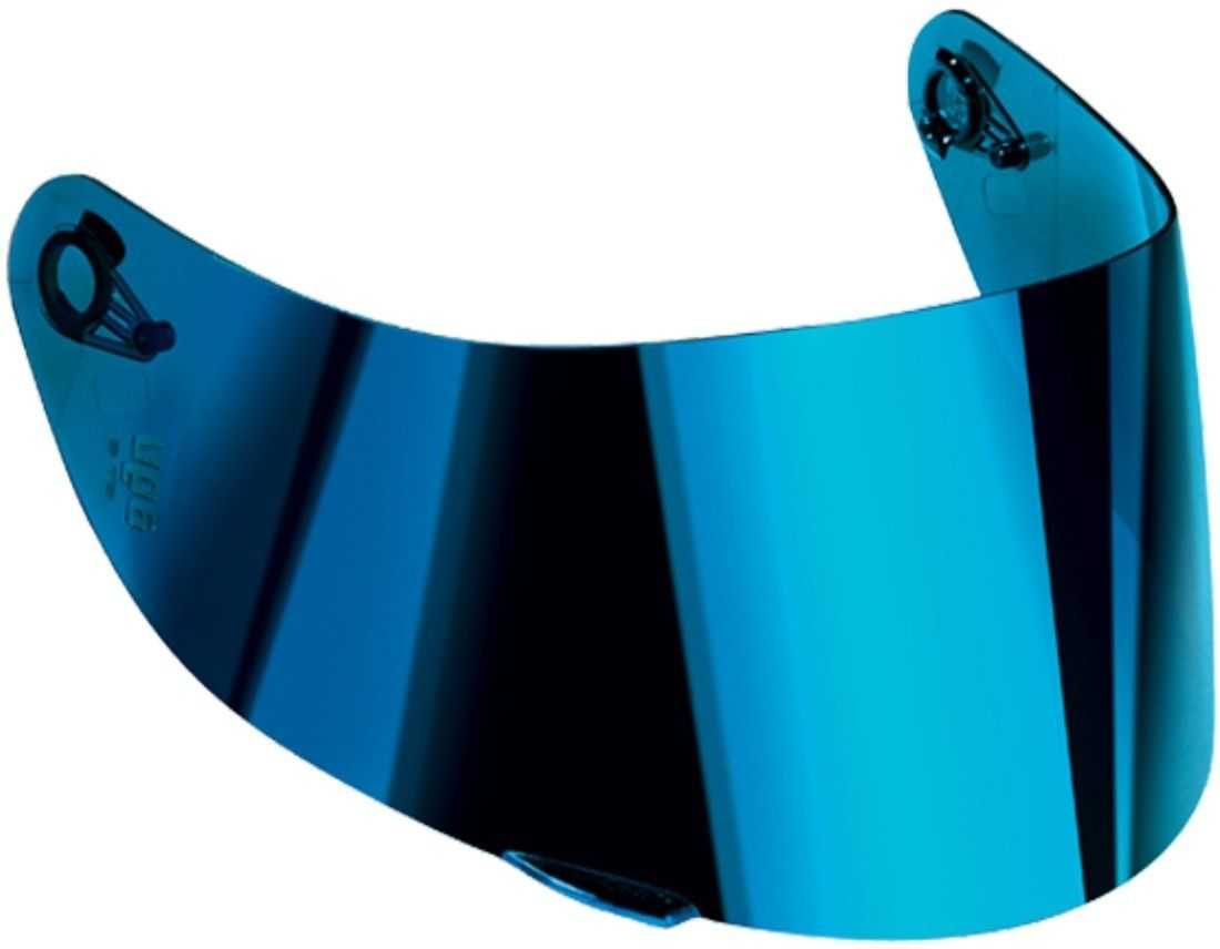 Viseira AGV Espelhada Azul para K-3 SV, K-1, Horizon, Numo Evo