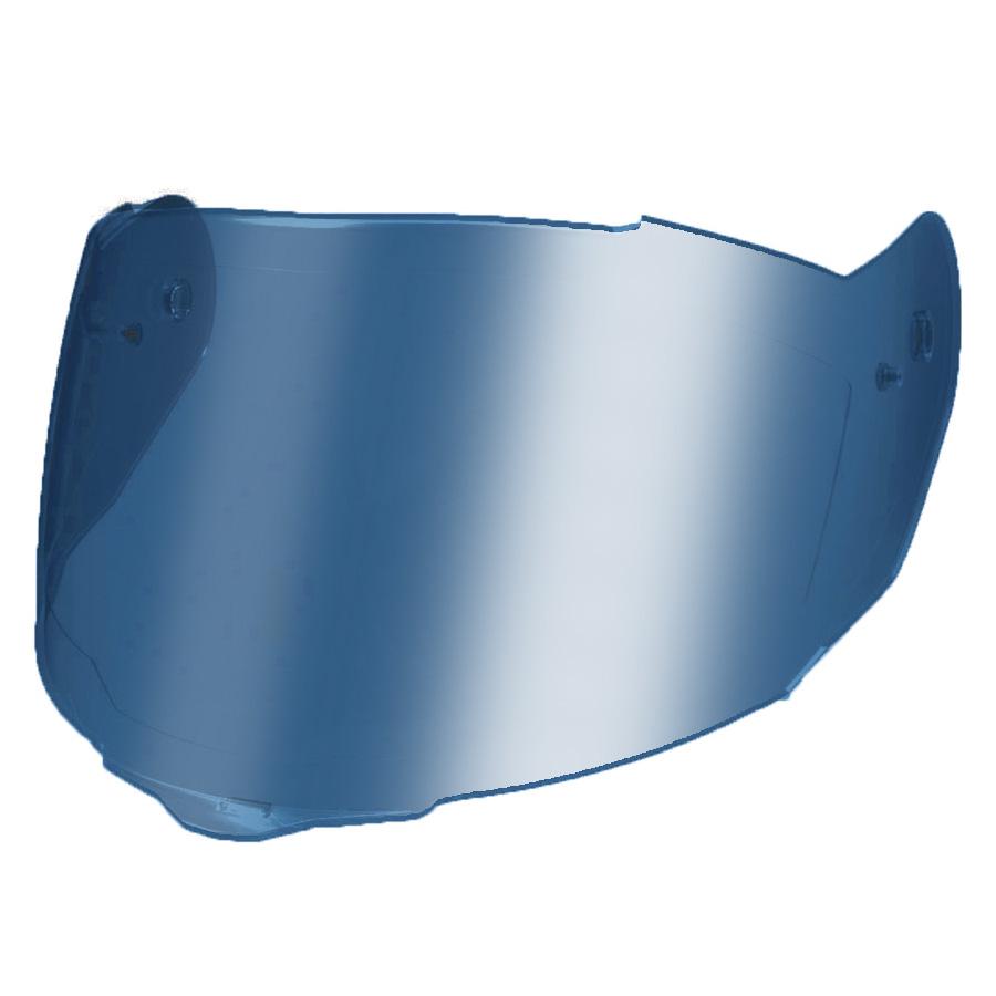 Viseira Nexx SX100 Espelhada Azul  - Planet Bike Shop Moto Acessórios