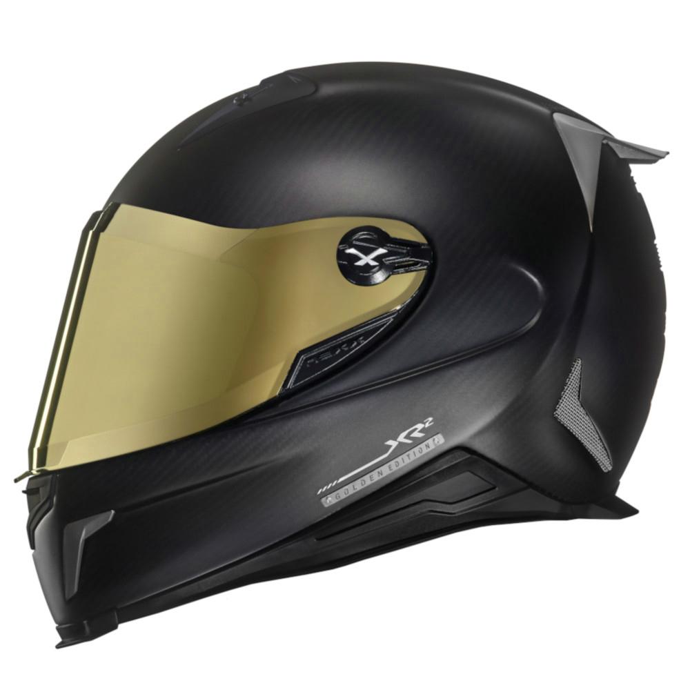 Viseira Nexx XR2 Espelhada Dourada  - Planet Bike Shop Moto Acessórios