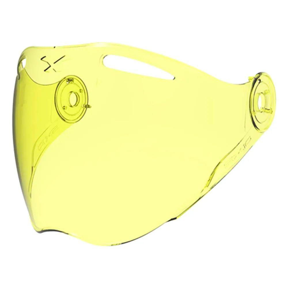 Viseira Sx10 - Yellow   - Planet Bike Shop Moto Acessórios