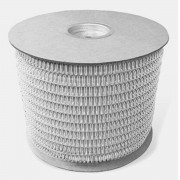 """Bobina Wire-o para Encadernação Prata 7/8"""" até 180 Folhas (Passo 2x1) - 6.000 Anéis"""