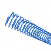 Espiral para Encadernação Azul 23mm até 140 Folhas - Pacote com 60 unidades