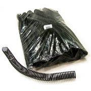 Espiral para Encadernação Preto 23mm até 140 Folhas - Pacote com 60 unidades
