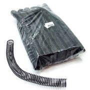 Espiral para Encadernação Preto 25mm até 160 Folhas - Pacote com 48 unidades