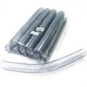 Espiral para Encadernação Transparente (Cristal) 33mm até 250 Folhas - Pacote com 27 unidades