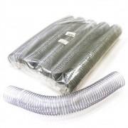 Kit 150 Espirais para Encadernação Transparente (Cristal) 45mm até 400 Folhas