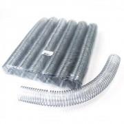 Kit 180 Espirais para Encadernação Transparente (Cristal) 40mm até 350 Folhas