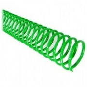 Kit 216 Espirais para Encadernação Verde 50mm até 450 Folhas