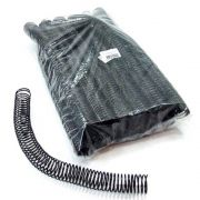 Kit 480 Espirais para Encadernação Preto 25mm até 160 Folhas