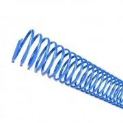 Kit 500 Espirais para Encadernação Azul 17mm até 100 Folhas