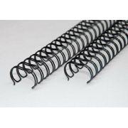 Kit 600 Garras Wire-o para Encadernação A4 Preto Passo 3x1 - 9/16, 1/2, 7/16, 3/8, 5/16 e 1/4