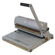 Kit Encadernadora Perfuradora Wire-o Passo 3x1 + Fechador Wire-o 36cm Excentrix