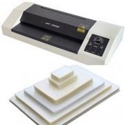 Kit Plastificadora A3-330C 220v + 420 Plásticos